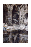 The Pool of Bethesda Giclee Print by James Jacques Joseph Tissot