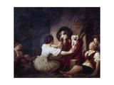 Education Is All, 1780 Impression giclée par Jean-Honore Fragonard