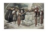 Noah's Sacrifice Wydruk giclee autor James Jacques Joseph Tissot