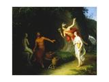 Pygmalion and Galatea, 1820 Wydruk giclee autor Johann Baptist Lampi I