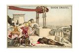 Bearers of Ill Tidings Giclee Print by Jean Jules Antoine Lecomte du Nouy