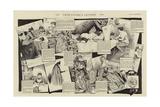 Leur Papier a Lettres Giclee Print by Jacques Onfray De Breville