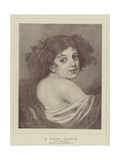 A Wood Nymph Giclee Print by Jean Baptiste Greuze