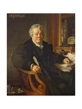 Adolphe Cremieux, 1878 Giclee Print by Jean Jules Antoine Lecomte du Nouy