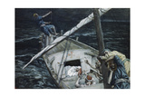 Jesus Asleep During the Storm Giclee Print by James Jacques Joseph Tissot