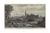 Newark, for Which Mr Gladstone Was First Returned to Parliament Giclee Print by James Burrell Smith