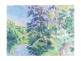 Landscape Giclee Print by Jean Baptiste Armand Guillaumin
