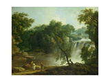The Falls of Clyde, C.1771 Giclee Print by Jacob More