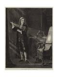 Newton Investigating Light Giclee Print by John Adam P. Houston