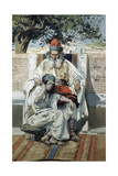 David and Abishag Giclee Print by James Jacques Joseph Tissot