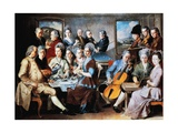 Remy Family, 1776 Giclee Print by Januarius Zick