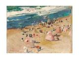 Beach at Biarritz, 1906 Giclee Print by Joaquin Sorolla y Bastida
