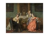 Afternoon Tea, 1879 Giclee Print by Jean Carolus