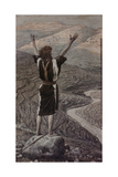 The Voice in the Desert Giclee Print by James Jacques Joseph Tissot