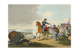 The Prince of Orange at the Battle of Waterloo Giclee Print by John Augustus Atkinson