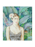 Portrait of Ranchero's Sister-In-Law, 1988 Giclee Print by James Reeve