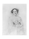 Portrait of Madame Ingres, 1852 Giclee Print by Jean Auguste Dominique Ingres