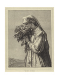 Les Roses Giclee Print by Jean Francois Portaels
