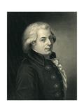 Portrait of Wolfgang Amadeus Mozart (1756-91) Austrian Composer Giclee Print by Johann Heinrich Wilhelm Tischbein