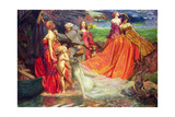 Now Is the Pilgrim Year Fair Autumn's Charge, 1904 Giclee Print by John Byam Liston Shaw