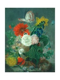 Flowerpiece Giclee Print by Jan van Os