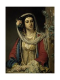 Unknown Jewish Girl in Cairo Giclee Print by Jean Francois Portaels