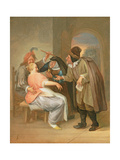 The Proposition Giclee Print by Jan Havicksz. Steen