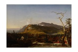 Catskill Mountain House, 1855 Giclee Print by Jasper Francis Cropsey