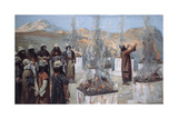 The Seven Altars of Balaam Giclee Print by James Jacques Joseph Tissot