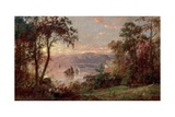 Sailing (The Hudson at Tappan Zee), 1883 Giclee Print by Jasper Francis Cropsey