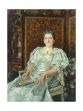 Mrs Alfred Illingworth Giclee Print by James Charles