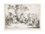 Sacrifice to Pan, C. 1760-1763 Giclee Print by Jean Jacques II Lagrenee