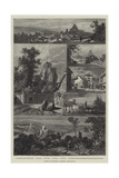 Views of Launceston, Cornwall Giclee Print by James Burrell Smith