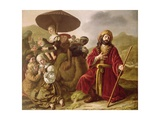 Jacob Seeking Forgiveness of Esau, 1652 Giclée-Druck von Jan Victors