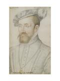 François De Cleves Giclee Print by Jean Clouet