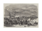Entry of the French Troops into Savoy Giclee Print by Jean Adolphe Beauce