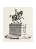 Equestrian Statue of Francis I to the Court of the Louvre, 1855. Giclee Print by Jean Baptiste Auguste Clesinger