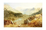 Thirlmere, Cumberland, 1869 Giclee Print by James Baker Pyne