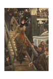 Embarkation at Calais Giclee Print by James Jacques Joseph Tissot