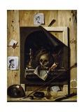 Vanity and Trompe-L'Oeil Giclee Print by Jean-Francois de La Motte