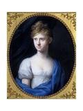Amalie Adelheid Luise Therese Caroline Princess of Sachsen-Meiningen, C.1808 Giclee Print by Johann Heinrich Schroder