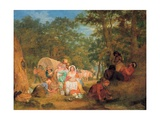 Homeward Bound: Dinner Time, C.1852 Giclee Print by John Alexander Gilfillan