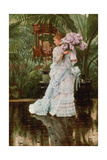 The Bunch of Lilacs, 1875 Giclee Print by James Jacques Joseph Tissot