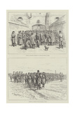 Military at Kiev Giclee Print by Johann Nepomuk Schonberg