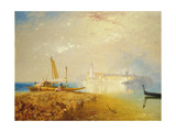 The Island of Murano, 1867-69 Giclee Print by James Baker Pyne