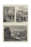 Prince Leopold's Student Life at Oxford Giclee Print by James Burrell Smith