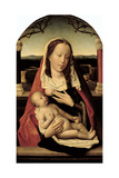 Virgin and Child (Panel) Giclee Print by Jan II Provost