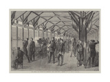 The Recent Tir National at Vincennes, Near Paris Giclee Print by Jean Adolphe Beauce