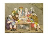 Banditti, 1783 Wydruk giclee autor John Boyne
