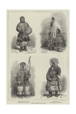 Natives of Siberia Giclee Print by Johann Nepomuk Schonberg